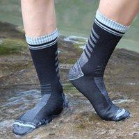 2021 Waterproof Socks Breathable Outdoor Waterproof Hiking Wading Camping Winter Skiing Sock Riding Snow Warm Waterproof Socks