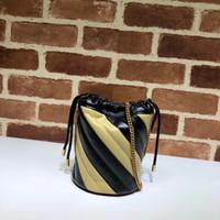 Designer Luxus Top Qualität Womans Handtaschen Frauen Gold Kette Strap Tote Umhängetaschen Kreuz Körper Weibliche Umhängetasche Geldbörse Schwarz Aprikosen Rot Öl Wachs Haut 583571