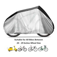 Bike Cover - Waterproof Bicycle Storage Tarp PU Portable Lightweight Protect Bike from UV Rain Snow Dust Wind for Mountain Road Electric