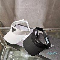 Vendita all'ingrosso-lettera vuota tappo top casual visore visiera solare uomini designer cappello sport donne golf tennis all'aperto spiaggia fascia fascia baseball