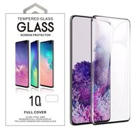Case Friendly 3D 10D Curved Tempered Glass Protectors For Samsung S8 S9 S10 S20 Note 9 10 20 Plus Ultra With Retail Package