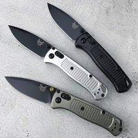 BenchMade Mini BM535 оси складной нож 2,8 В 8CR13MOV Лезвие с алюминиевой ручкой Легкий дизайн для карманных ножей EDC