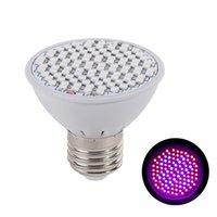 E27 LED poussez les lumières 6W 220V Lampe de plante en croissance pour graines d'intérieur Système d'hydroponie Système de fleur Veg Fiolampy Phyto