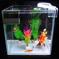 Aquariums Lighting Mini 5W Clip LED Aquarium Light Clip-on Underwater Waterproof Aquatic Plants Grow Lamp Submersible Fish Tank Bar Lights T