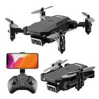 Teng1 E88 Folding RC DRONE 4K fundamental HD DRONE mit 4K Kamera und GPS Weitwinkel Dual Camera GPS DRONE Y0703