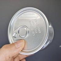 Återanvändbar 3,5 g klar kan rökning Tillbehör Matkvalitet Förpackningsfall 100ml Dry Herb Flower Pet Easy-Open Lift Ring Pull Tab Owc6878