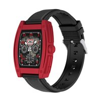 Кислород в крови Fitns Tracker Smart Wrist Rands Android BT 5.0 Вызов N72 Smart Watch с поворотной кнопкой 200 мАч Батарея