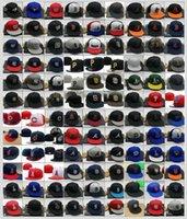 2021 جديد الرجال القبعات المجهزة الكبار شقة على ميدان قبعات البيسبول جاهزة غطاء للرجال والنساء حجم 7- حجم 8