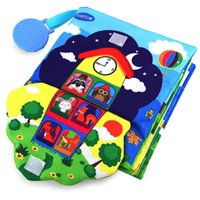 Teytoy Soft Baby Critchle 3D Touch Fabric Book  - ジッパー、ボタン、バックル、レース、早期学習基本ライフスキルソフトトイH1009
