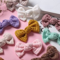 Meninas acessórios de cabelo fitclips bebê bb clip kids barrettes clipes childrens cute lace arcos bowknot