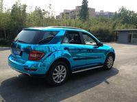 Luz lustrosa lustrosa espelho azul Chrome Vinil filme envoltório de filme adesivo de carro de embrulho com bolhas de ar