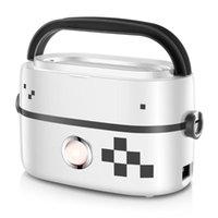 Almoço elétrico refeições Caixa de aquecimento portátil multicooker arroz fogão aquecedor