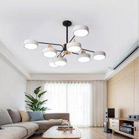 Pendelleuchten Modern Lights Wohn-Esszimmer Schlafzimmer Makaron 3-6-8 Köpfe LED Luxus Atmosphärische Tube Hängende Vorrichtungen Leuchte