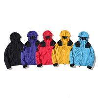 2021 TNF Mens Womens Trench Coats 패션 남성 후드 재킷 Pizex 방풍 캐주얼 까마귀 스웨터 느슨한 쾌적한 노스 힙합 Face Jackets 1996