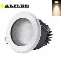 Direlights Diepe Anti-Glare LED IP65 Downlight COB Lampa sufitowa 7W 12W Spot Balkon WC Waterproof Oświetlenie