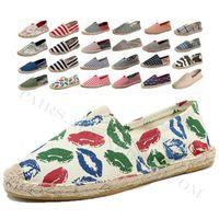 Wäsche männlich Casual Schuhe Müßiggänger Herren Bequeme wilde flache Schuhwespieler Fischer Junge Handgemachte Flat Espadrilles Elegante Fahrschuhe