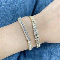 Charm Bracelets 5Pcs Lot Delicate Ladies Jewel Bangle Zircon Tennis Chain Trendy Style