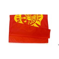 Fabrikpreis-Übergabe 3 von 5 ft Polyester Vereinigte Staaten von Amerikaner Fire Fighter Feuerwehrmann Flagge DHB5961