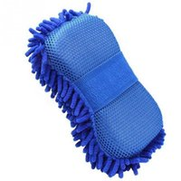 Chenille Car Care Microfiber Wash Sponges pads Mitt Cleaning Washing Glove Microfibre Sponge Cloth Washer