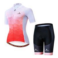 2021 женский триатлон с коротким рукавом Велоспорт Джерси наборы Maillot ROPA Ciclismo Велосипеда Велосипедные рубашки