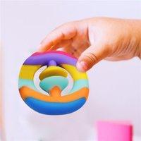 Fidget Brinquedos Esforço Bola de Dedo Mão Segura Stress Relisor Brinquedo Adulto Childs Engraçado Anti-Stress Fidget Reliver Reliver Bilting