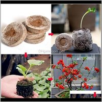 Planters Pots Supplies Patio, Lawn Home & Drop Delivery 2021 30Mm Jiffy Peat Pellets Seedling Soil Block Rockwool Cubes Maker Starting Plugs