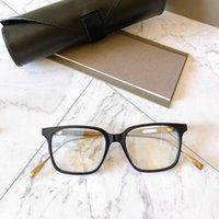 Diseño de lujo de alta calidad Lujo \ u00a0designer Gafas de sol S-Roqi Industria pesada Titanio DT Torre Torre Caja de personalidad Mujer Lente óptica Cómodo Macho