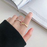 반지 여성 입 조절 식 웨이브 곡선 성격 패션 인덱스 손가락 일본 및 한국 FA99