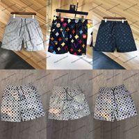 Herren Shorts 2021 Sommerdesigner Casual Sport Mode Schnelltrocknung Männer Strand Hosen Schwarzweiß-Asiatische Größe M-3XL
