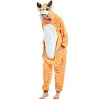 Unicórnio pijama animal adulto onesies para mulheres homens casal 2021 inverno pijama stitch sleepwear flannel pijamas pijamas