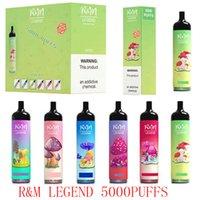 RM Legenda Eliminabile E Sigarette Cartoon Design Kit 5000Puffs Vape Pen 12ml Pods pre-riempiti 950mAh Vapori batteria vs randm dazzle mk pro max