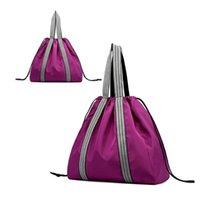 Bolsas al aire libre Bolsa de yoga Impermeable para el gimnasio Mat Nylon Mochila Parrier del hombro Pilates Hand No