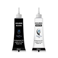 20ml Wash&Maintenance Car Home Leathers Repair Gel Tools White black Color Seat Leather Complementary Refurbishing Cream Paste Cleaner Tool
