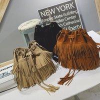 For Womens Fringe Messenger Shoulder Tassel Bag Faux Suede Handbag Crossbody Satchel Party Favor