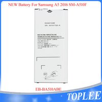 Toptan Fiyat !! Yüksek Kalite EB-Ba510abe Batarya Samsung Galaxy A510 SM-A510F A5100 A5 A51 A510F Piller