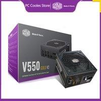 Refroidisseur Master V850 Gold V2 850W Ordinateur d'alimentation PC avec ventilateur silencieux ATX 24PIN 12V 80PLUS Coolings
