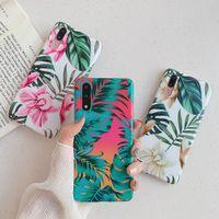 Ретро цветы банановый лист телефон чехол для Huawei P20 P30 Pro Lite Soft IMD Case для Huawei Mate 20 Lite Pro задняя крышка