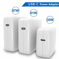 29W 30W 61W 87W USB-C Laptop Power Adapter Type-C PD Charger For Latest Macbook 13 15-inch A1706 A1707 iphone iPad Pro