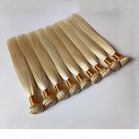 البرازيلي العذراء الشعر الشعر رخيصة مصنع الجملة السعر بيرو # 613 شقراء الشعر البشري الساخن بيع الهندي ريمي الشعر لحمة 10PCS