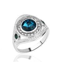 Любовное кольцо алмазные темперамент мода элегантное ол изысканный инкрустированный спутниковый камень низкая цена смешанная партия