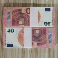 10 евро Большая бумага для банковской ноты Ночной клуб коллекции Играть деньги копии поддельный бизнес принципиально реалистичный фильм 45 AFXVU