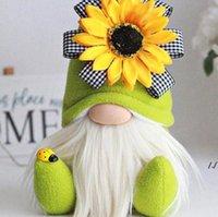 Anneler Günü Cüceler Parti Hediye Bahar Çiçekler Cüce Ev Dekorasyon El Yapımı Yüzsüz Peluş Bebek Arı Festivali Masaüstü Süsleme AHE5545