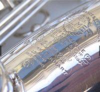 Франция Марк VI 1958 Alto Saxophone Посеребренная копия 99% Оригинальный EB E Flat Sax