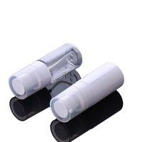 Contenitori cosmetici da 45ml Bianco / trasparente Spessore Pompe di plastica Pompe di plastica Bottiglie Viaggio Portatile Dispensa per Bottiglie secondari per la lozione liquida RRD6911