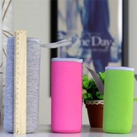 Neoprene Insulated Sleeves Cup Cover With Carrying Handle Tumbler Water Bottle Carrier Holder Bags Case CPA2737