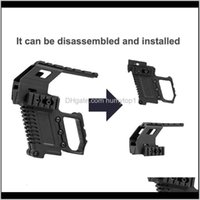 Airsoft Tactical Rail Base System System Quick Reload Mount Stock Mount per G17 G18 G19 G19 Accessori Kit Carbina 274 W2 S9ivo MRVGP