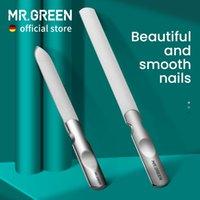 Mr.Green ملفات مزدوجة الوجهين الفولاذ المقاوم للصدأ مانيكير باديكير الاستمالة للمحترفين إصبع القدم أدوات العناية بالأظافر