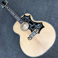 Elvis Presley modelo 200 guitarra acústica 43 polegadas jumbo spruce spruce top chama maple body guitare acústica