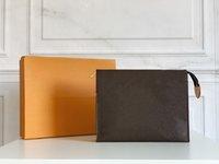 고품질 luxurys 디자이너 핸드백 지갑 지갑 가방 패션 Zippe 화장품 Pochette 항해 클러치 모노그램 26 화장실 가방 클래식 팔라스 메이크업 핸드백