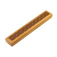 Fragrance Lamps Retro Natural Incense Box Elegant Stick Holder Decorative Pressure Relief Bamboo Easy Clean Home